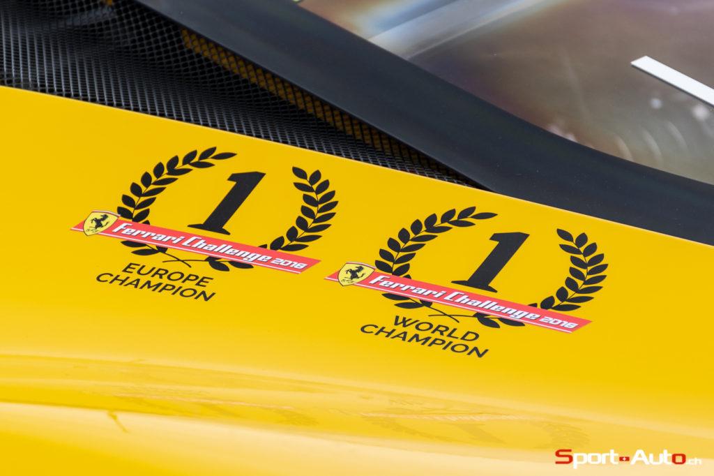 Une Ferrari sur les pistes de Verbier