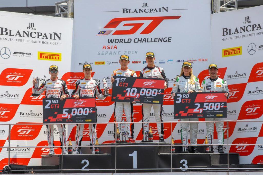 Blancpain GT WC Asia – Podium et victoire en Pro-Am pour Alexandre Imperatori