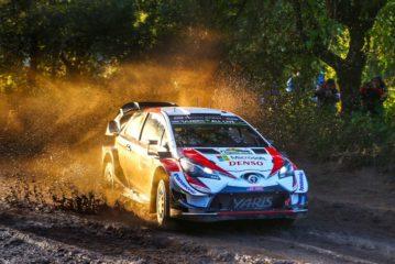 Toyota Gazoo Racing battles through the mud in Argentina
