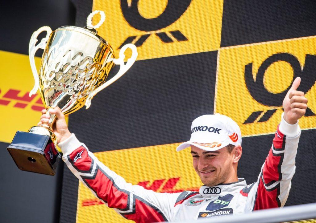 DTM - Nico Müller a fêté à Flamatt sa 2e place de Hockenheim