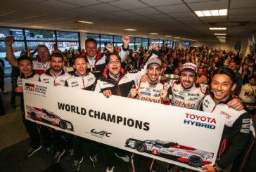 Toyota Gazoo Racing secures World Championship