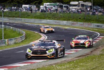 A turbulent final test for Mercedes-AMG Motorsport at the Nürburgring-Nordschleife