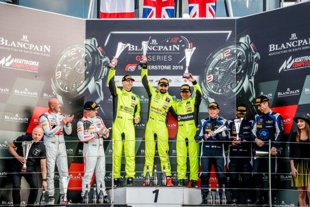 Blancpain Endurance Series – SMP Racing s'impose à Silverstone, Lucas Mauron et Adrian Amstutz remportent leur classe