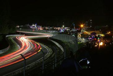 Sechs Audi R8 LMS GT3 bei den 24 Stunden Nürburgring