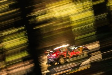 The C3 WRC returns to Europe