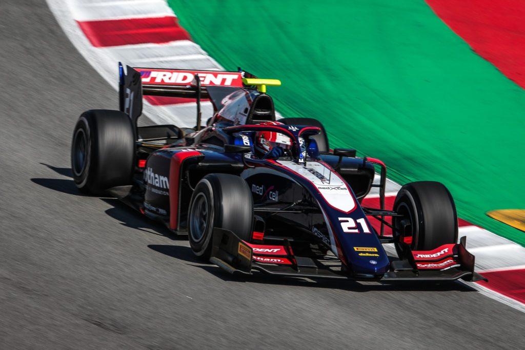 FIA F2 – GP d'Espagne: Ralph Boschung marque son premier point de la saison. Louis Delétraz à la peine