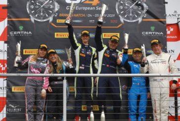 Pascal Bachmann rempote sa première victoire en GT4 European Series à Brands Hatch