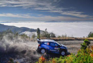 WRC – Two Fiesta in the Top Five