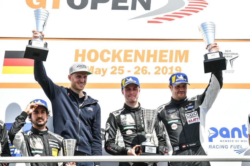 GT Open – Doublé pour Emil Frey Racing à Hockenheim