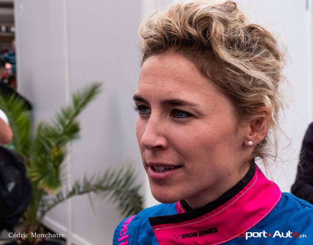 """24h du Mans 2019 - Rahel Frey : """"Un équipage 100% féminin, c'est tout simplement génial !"""""""