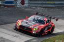 Podiumserfolg und Klassensieg für Mercedes-AMG bei einem turbulenten 24-Stunden-Rennen