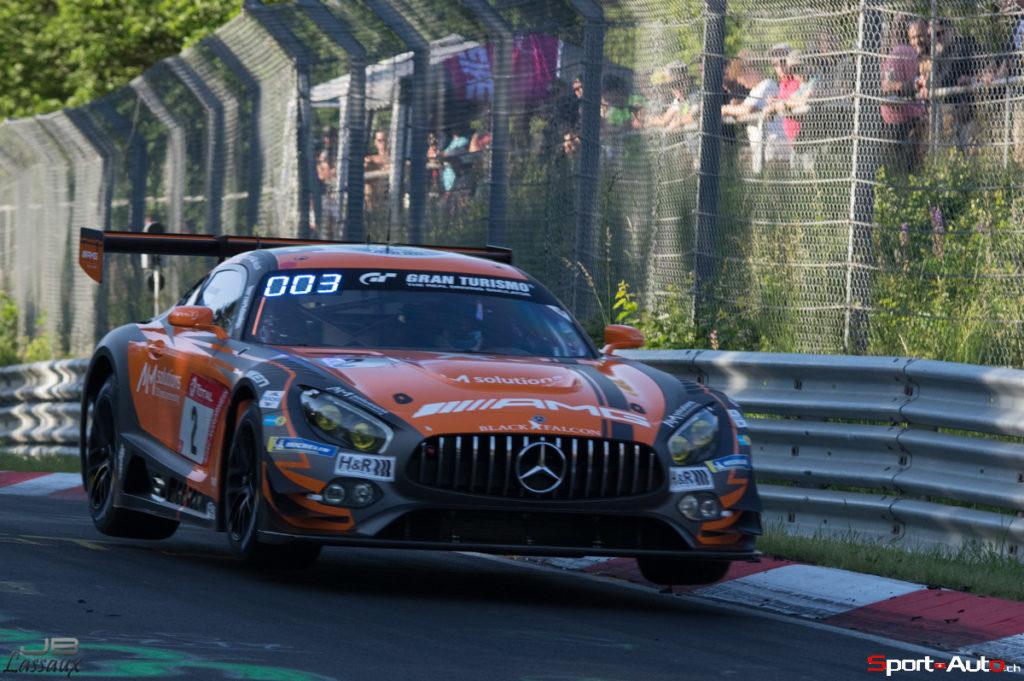 24h Nürburgring – Mercedes et Maro Engel en pole position
