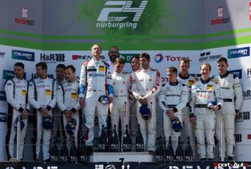 24h Nürburgring – Audi l'emporte, Marcel Fässler au pied du podium