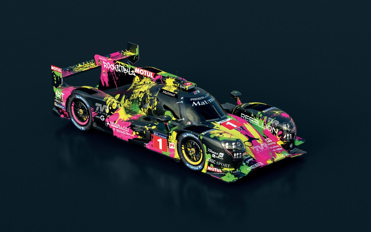 """Rebellion Racing nous offre une livrée spectaculaire """"x RocketByz"""" pour les 24h du Mans"""