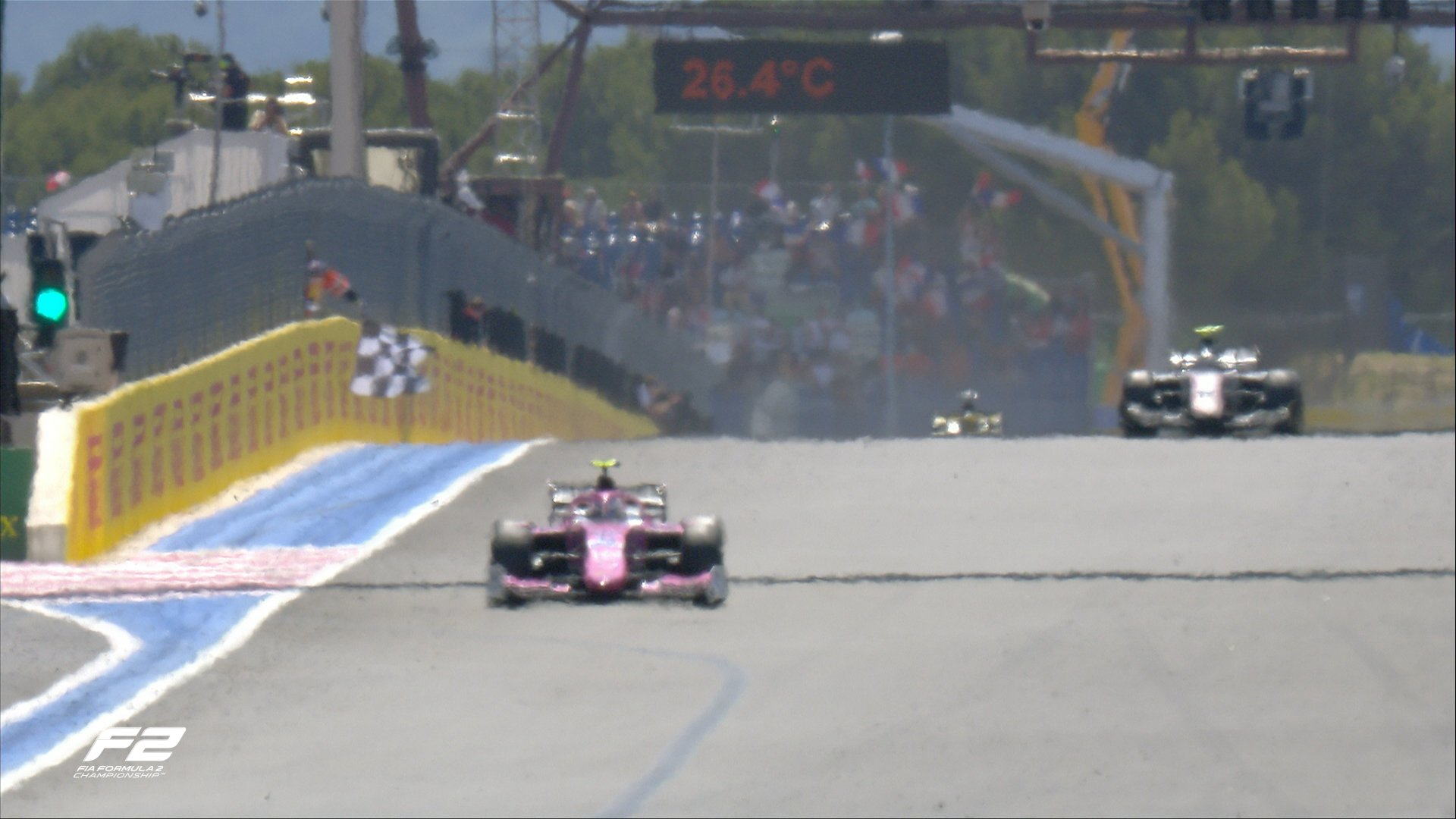 FIA F2 – GP de France: Quelques points pour Louis Delétraz au Castellet. De Vries prend la tête du championnat