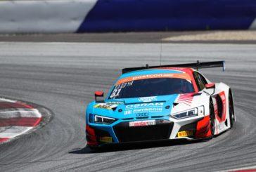 Patric Niederhauser geht als Meisterschaftsführender in die Sommerpause des ADAC GT Masters