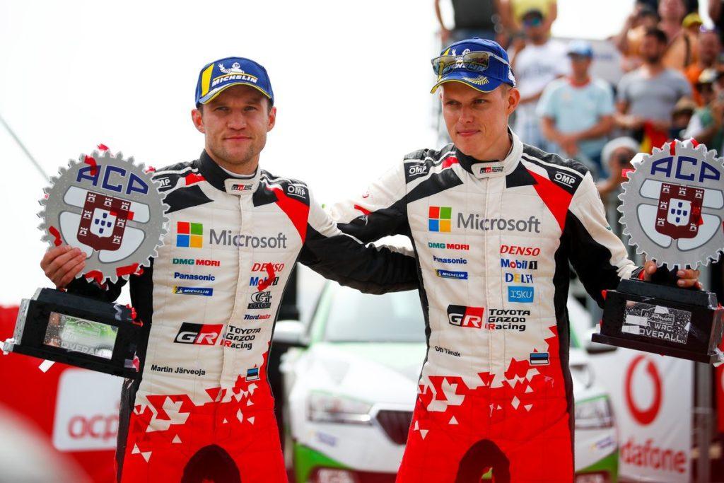WRC – Ott Tänak remporte le rallye du Portugal, l'écart se resserre au championnat