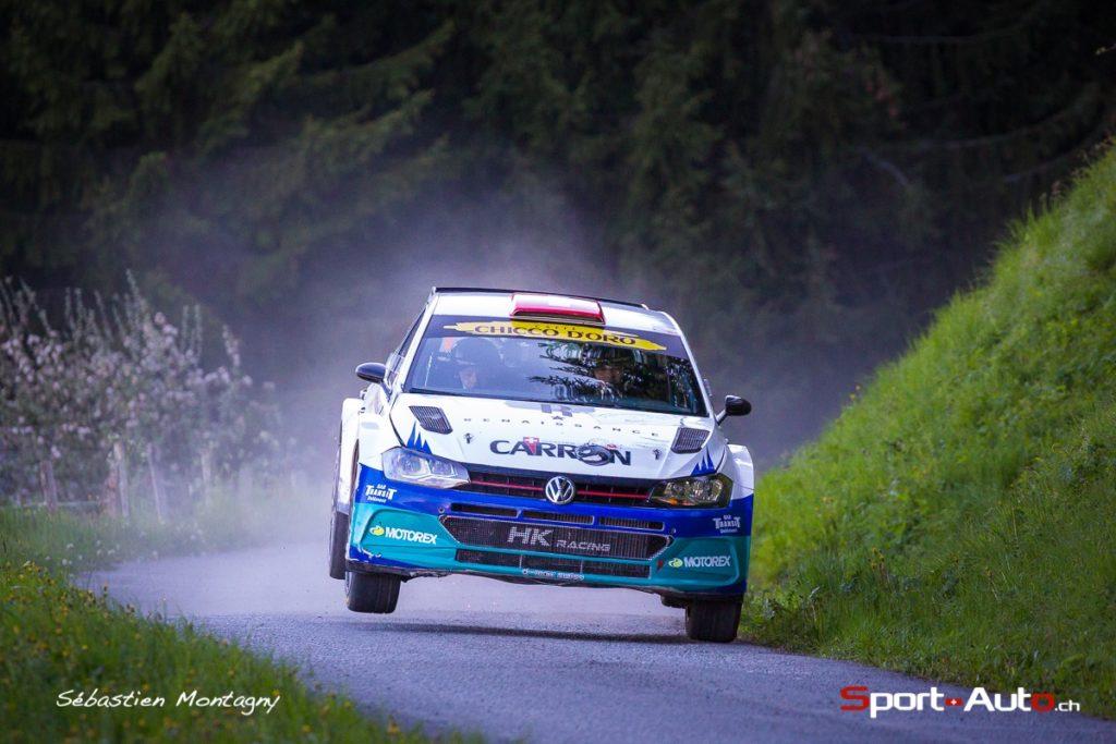 Rallye du Chablais 2019 - Retour gagnant de Sébastien Carron !