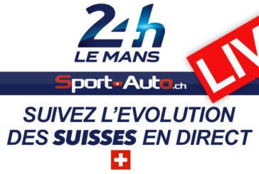 LIVE – 24h du Mans 2019 – Suivez la course des Suisses en direct….