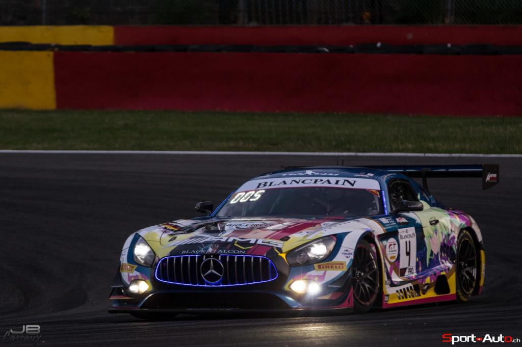 24h de Spa – Le meilleur temps pour Mercedes, Patrick Pilet, Nico Müller et Ricardo Feller qualifiés pour la Superpole