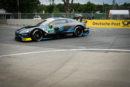 Drei Aston Martin Vantage DTM beim Saisonhighlight auf dem Norisring in den Top-10