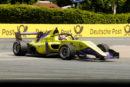 W-Series – Fabienne Wohlwend au pied du podium au Norisring