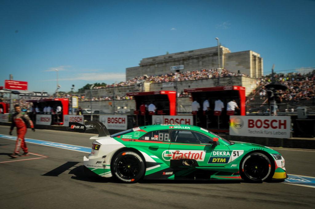 """DTM-Norisring: Nico Müller """"c'est une de mes plus belles courses"""""""