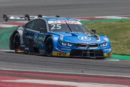 The BMW M4 DTM in action on the streets of Nuremberg