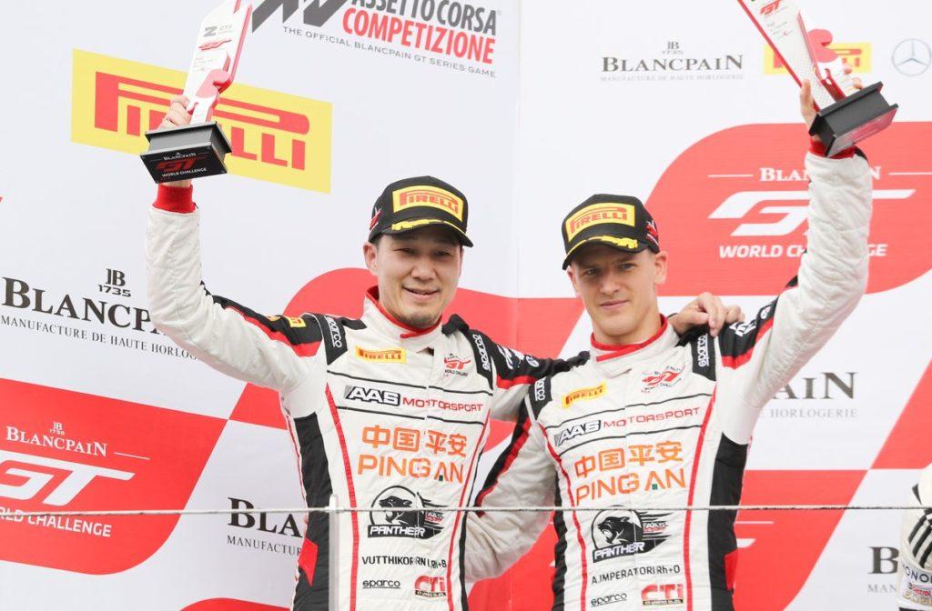 Blancpain GT World Challenge Asia – Alexandre Imperatori 2ème, grosse remontée pour Rahel Frey