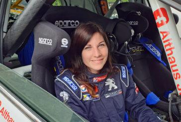 Champ. Suisse Rallye Junior : Lisiane Zbinden, le virus du rallye ancré en elle !