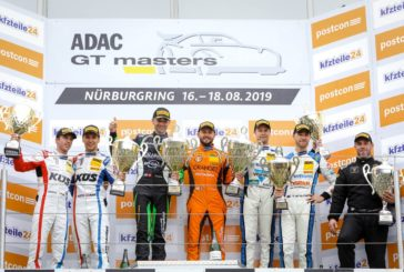 Lamborghini dominant in ADAC GT Masters at Nürburgring