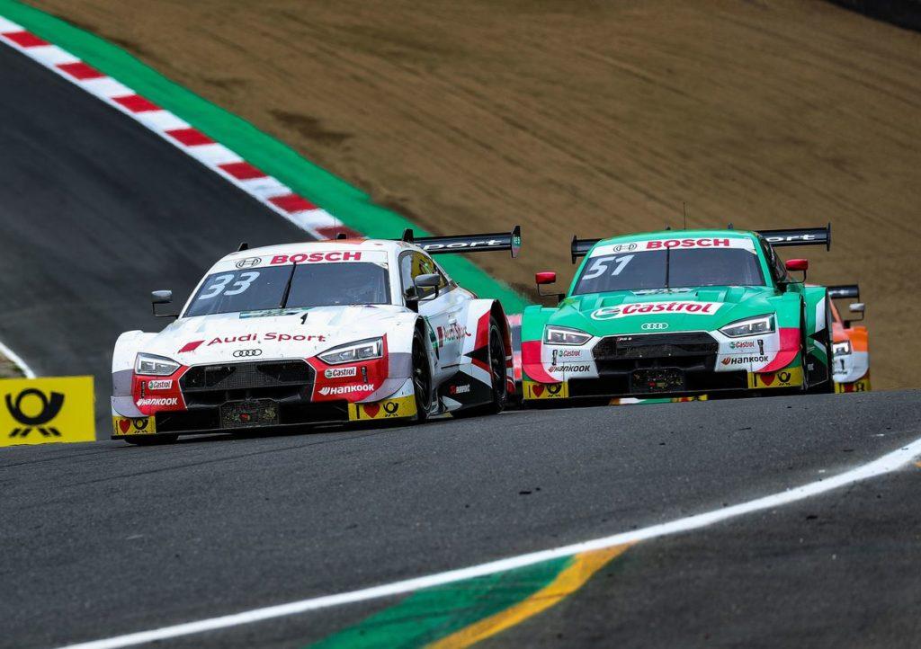 DTM – Quatre anneaux pour les quatre premières places à Brands-Hatch