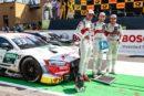 Fünffachtriumph beim 500. DTM-Rennen: Audi vorzeitig Herstellermeister