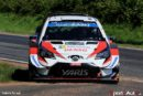 WRC –  Tänak with a narrow lead for TOYOTA GAZOO Racing in Germany