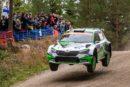 Škoda's local hero Kalle Rovanperä leads WRC 2 Pro category