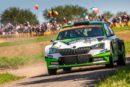 ADAC Rallye Deutschland: Rovanperä and Kopecký secure double lead for ŠKODA in WRC 2 Pro