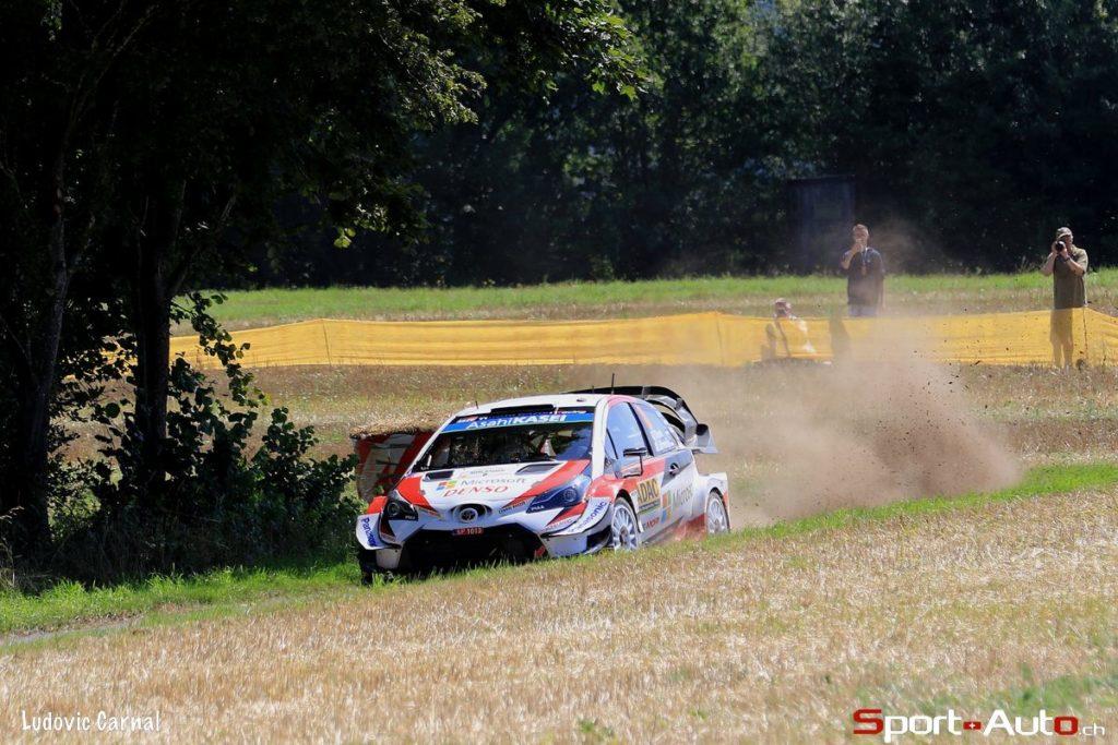 WRC - Ott Tänak prend le large en Allemagne