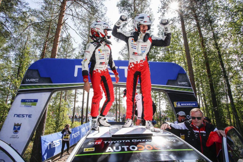 WRC - Ott Tanak fait la bonne opération en Finlande