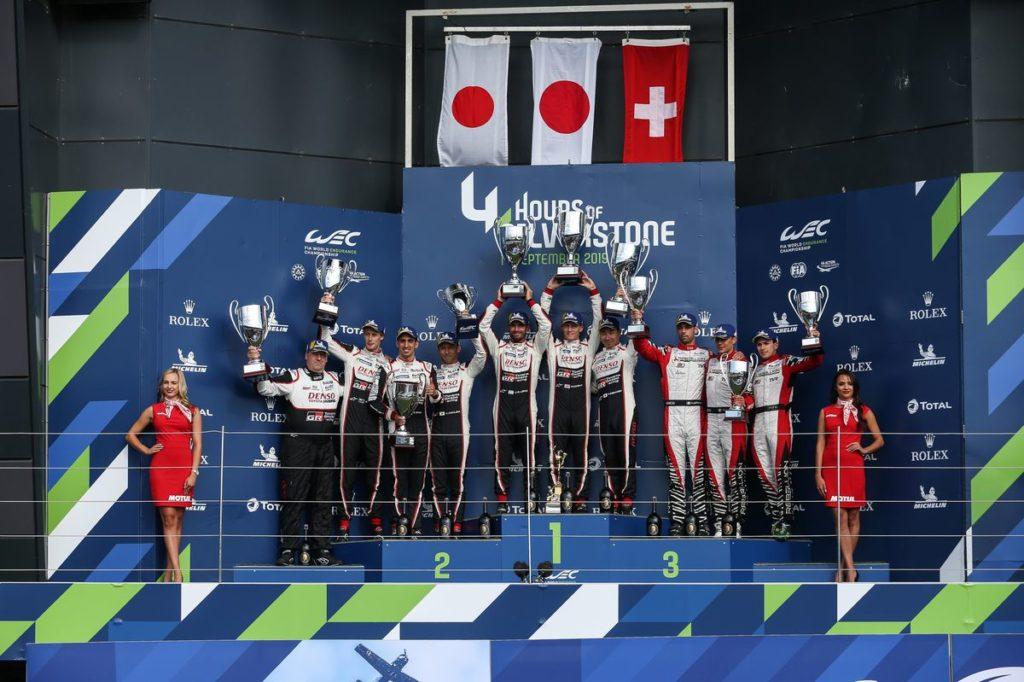 FIA WEC - Un nouveau podium pour Sébastien Buemi, 2e aux 4 Heures de Silverstone
