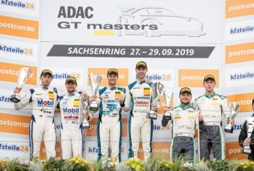 ADAC GT Masters – Champions Niederhauser and van der Linde victorious in finale – Team title for HCB-Rutronik Racing