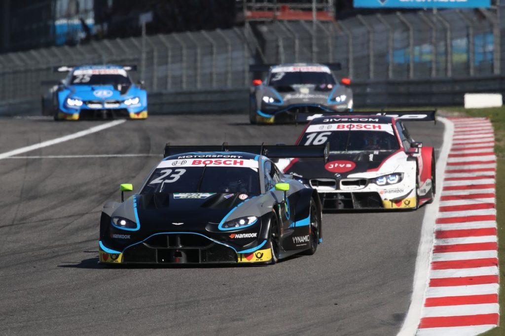 DTM - Ermutigende Performance auf dem Nürburgring ohne Punktebelohnung