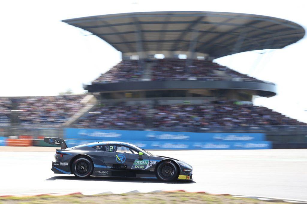 DTM -  Schwieriges Rennen für R-Motorsport auf dem Nürburgring