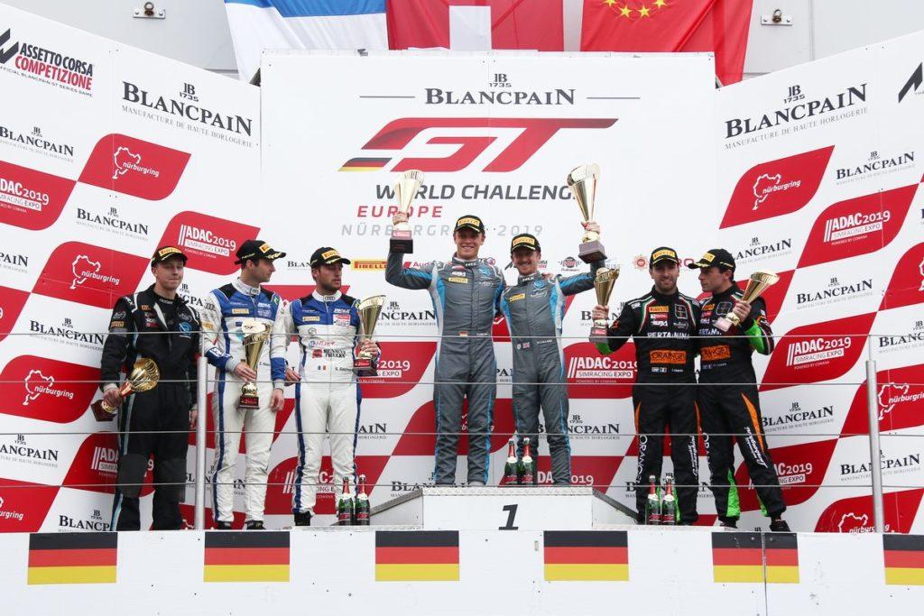 Blancpain GT World Challenge Europe – R-Motorsport s'impose au Nürburgring