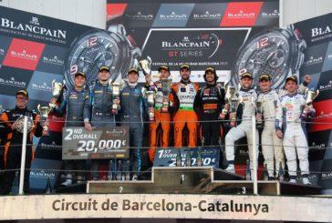 Blancpain GT Series – Orange1 FFF Racing remporte le championnat, Adrian Amstutz à nouveau titré en AM Cup