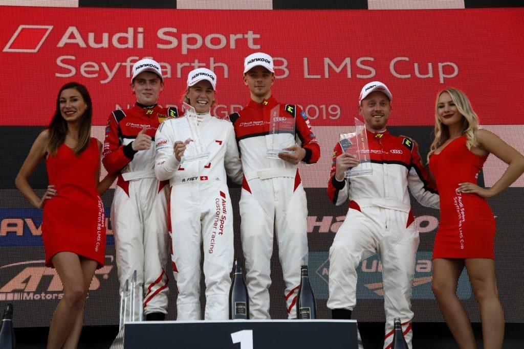 Audi Sport Seyffarth R8 LMS Cup - Rahel Frey s'offre le doublé au Nürburgring