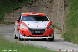 Sacha Althaus - Lysiane Zbinden, Peugeot 208 R2