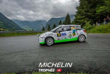 Rallye du Mont-Blanc – Trophée Michelin Suisse : Carton plein pour Sébastien Berner / Dominique Robyr !