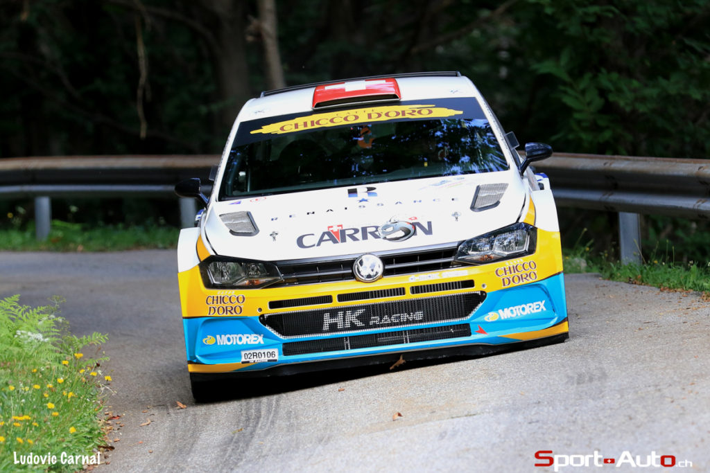 Rallye du Tessin – Sébastien Carron / Lucien Revaz remportent leur duel tessinois