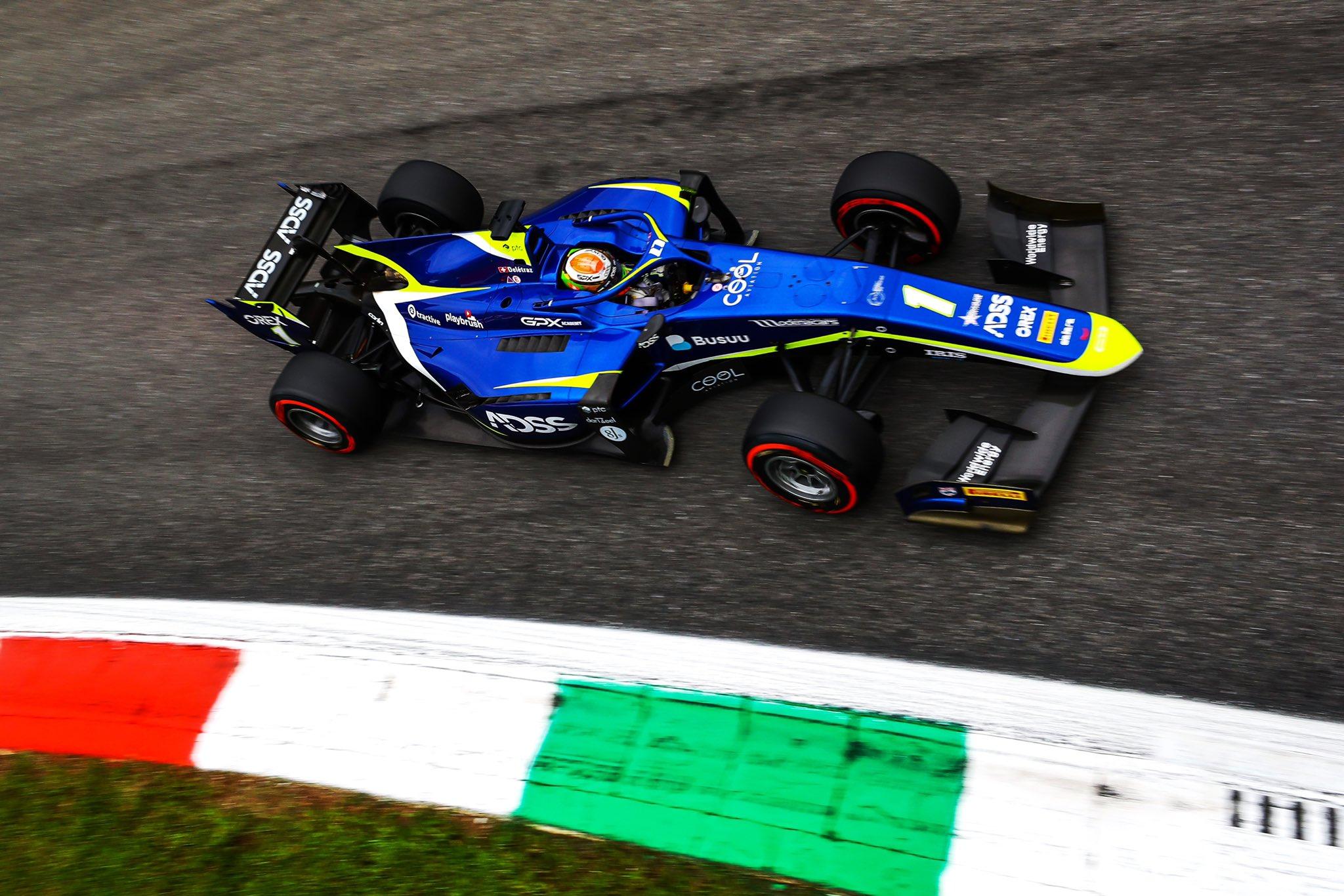 FIA F2 – GP d'Italie: Un point seulement pour Louis Delétraz, malheureux encore une fois.