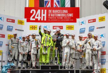 Barwell Motorsport seals nail-biting win at the 24H Barcelona